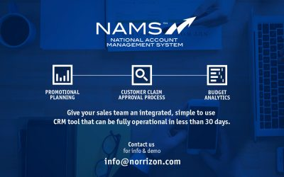 NAMS – National Account Management System